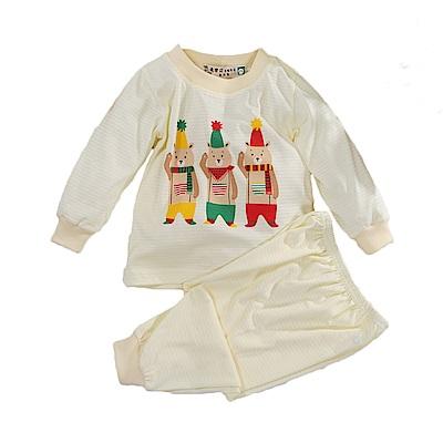 印花薄長袖居家套裝 k51044 魔法Baby