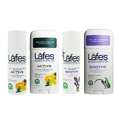 [超取滿390登記送60](買一送一)Lafe's 純自然體香膏/體香劑 任選