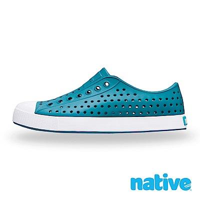 native JEFFERSON 男/女鞋-湛藍x貝殼白