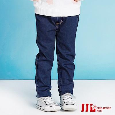 JJLKIDS 經典舒適百搭牛仔褲(彩藍)
