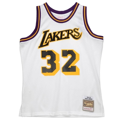 M&N NBA RELOAD 異色 復古球衣 湖人隊 84-85#32 Magic Johnson