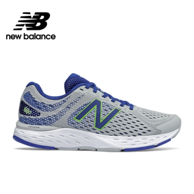 【New Balance】輕量跑鞋_男性_淺灰_M680AC6-2E楦