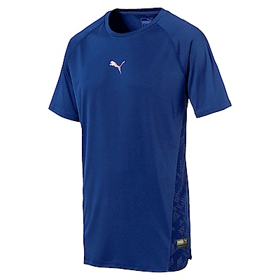 PUMA-男性訓練系列VENTPUMA短袖T恤-寶石藍-歐規