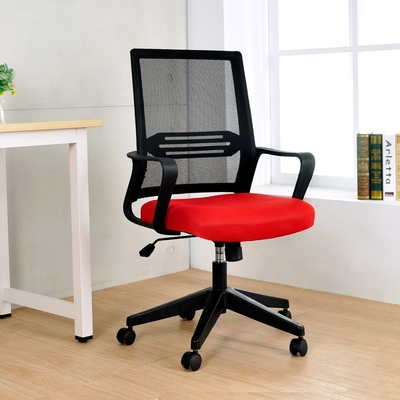 LOGIS邏爵 |效率GOT透氣網護腰電腦椅 辦公椅