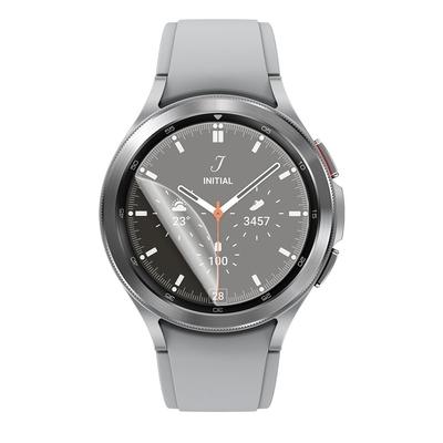 o-one小螢膜 三星Samsung Galaxy Watch 4 Classic 46mm 手錶保護貼兩入組 犀牛皮防護膜 抗衝擊自動修復