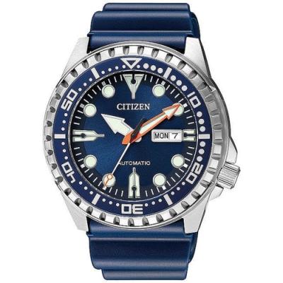 CITIZEN 星辰 Mechanical 潛水機械錶-藍(NH8381-12L)