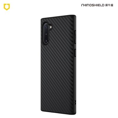 犀牛盾Samsung Galaxy Note10 SolidSuit碳纖維防摔背蓋手機殼