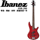Ibanez GSR-200 電貝斯/主動式Bass/紅色