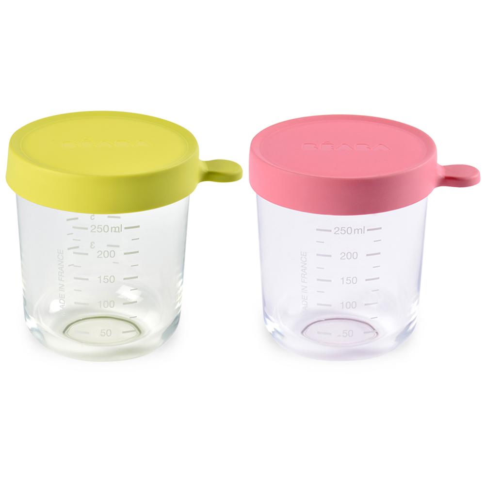 奇哥 BEABA 玻璃副食品儲存罐-250ml(2色選擇)