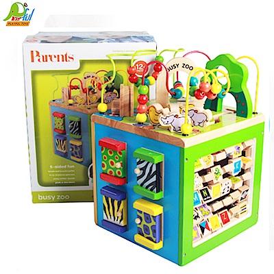 Playful Toys 頑玩具 多功能木製繞珠箱