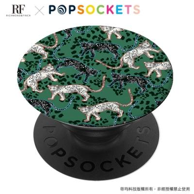 Richmond&Finch 聯名 PopSockets 泡泡騷二代手機支架-叢林美洲豹