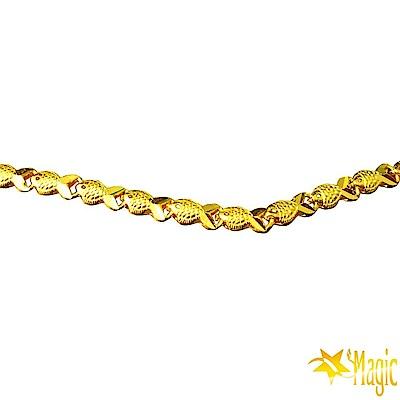 Magic魔法金-富貴黃金項鍊(約4.29錢)(約長60cm)