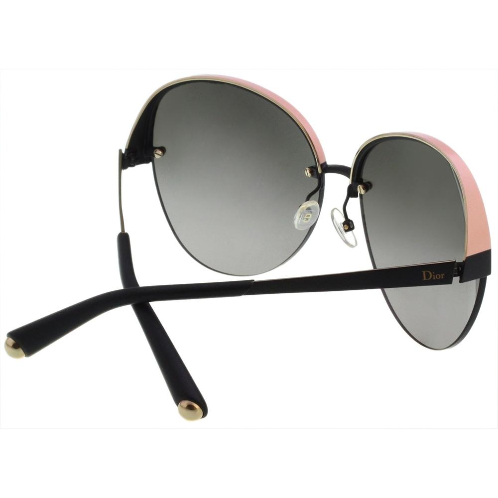 Dior 太陽眼鏡(黑配粉色)DIORSUPERBE