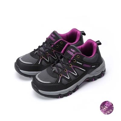 COMBAT艾樂跑女鞋-戶外運動鞋-黑/卡其(FA592)