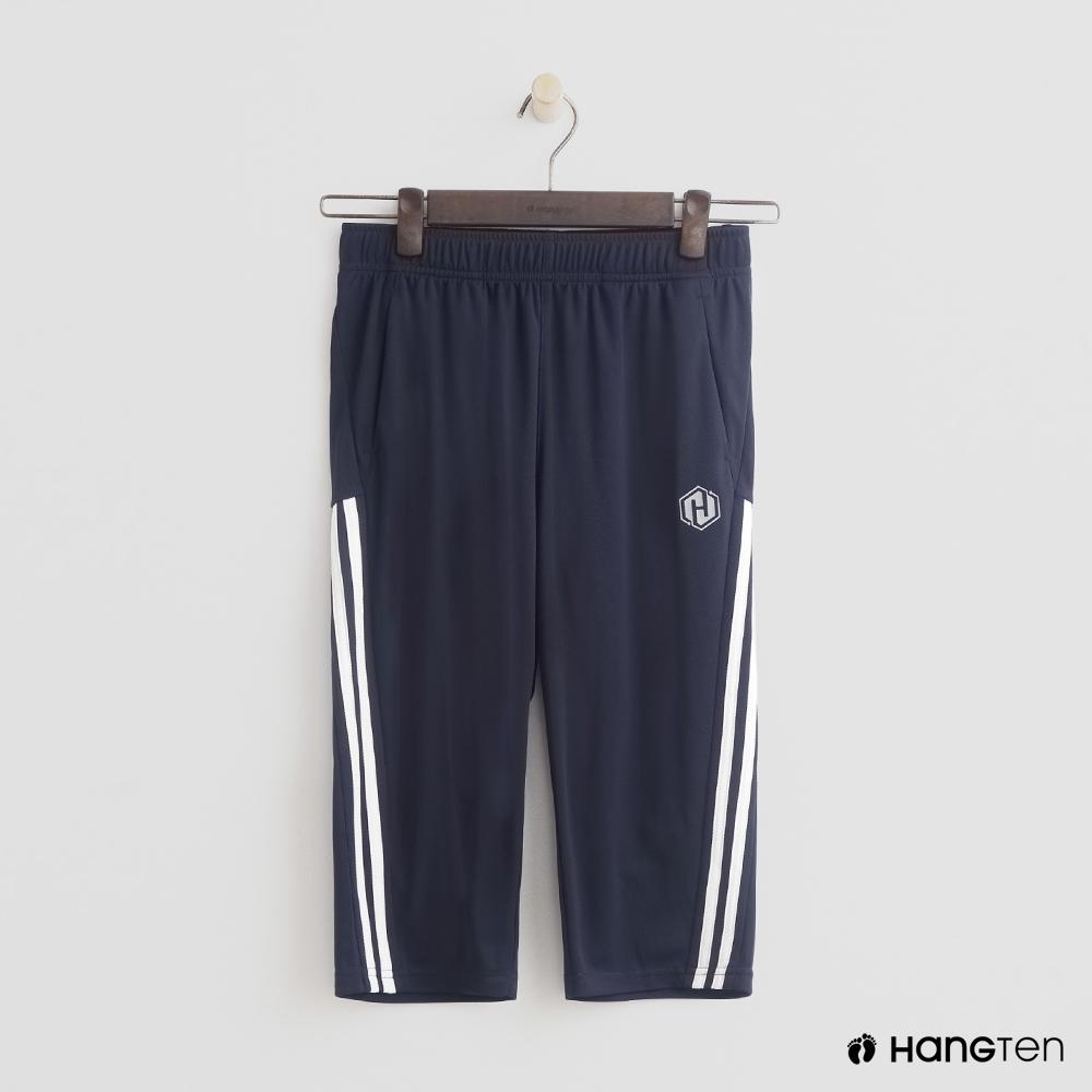 Hang Ten- 青少童裝-特色修邊潮流長褲-藍