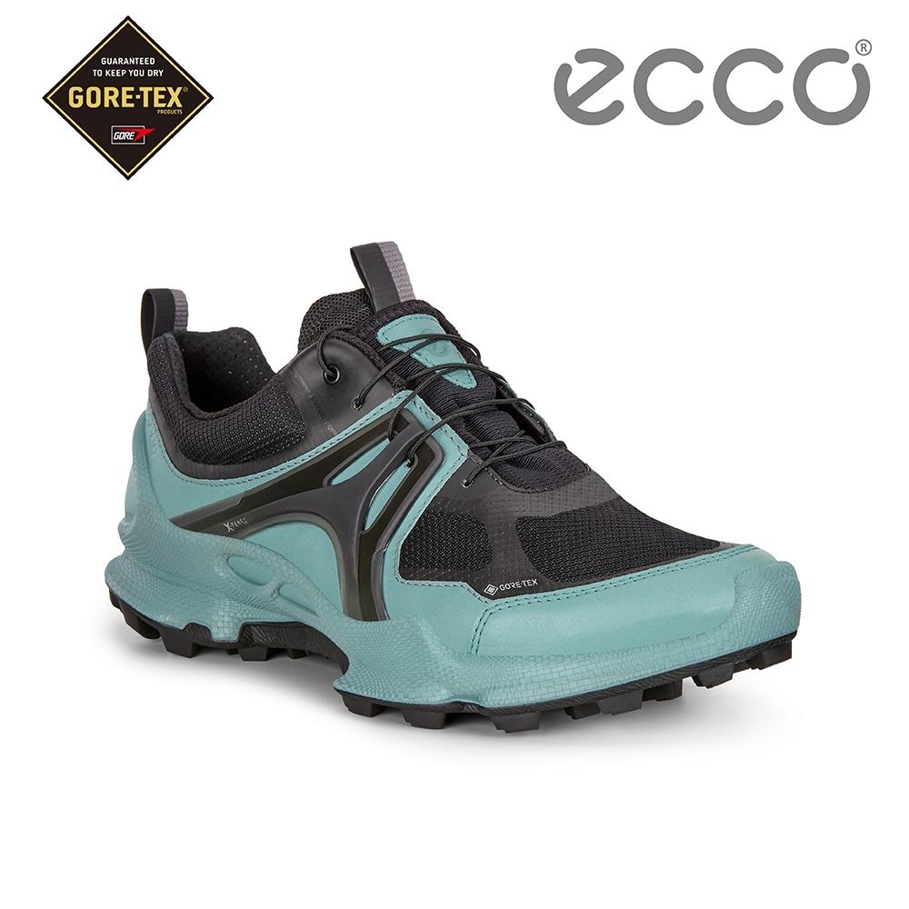 ECCO BIOM C-TRAIL W 縱橫越野健步運動鞋 女-青藍色