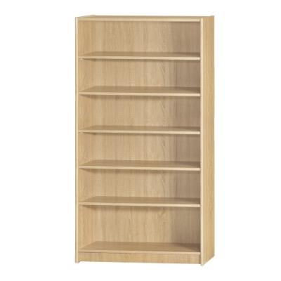 【綠活居】基斯坦   現代3尺六格書櫃/收納櫃(三色可選)-90x30x181cm免組