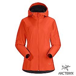 Arcteryx 24系列 女 Solano軟殼 防風 保暖 刷毛外套 曙光紅