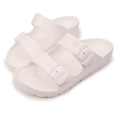 TTSNAP拖鞋-MIT輕量運動休閒拖鞋 白