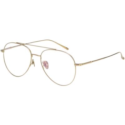 VEDI VERO 復古 β鈦 光學眼鏡 (金色)