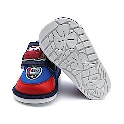 Disney 閃電麥坤寶寶紅色嗶嗶學步鞋