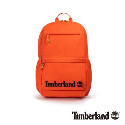 Timberland 中性亮橘色休閒雙肩後背包|A2FEY