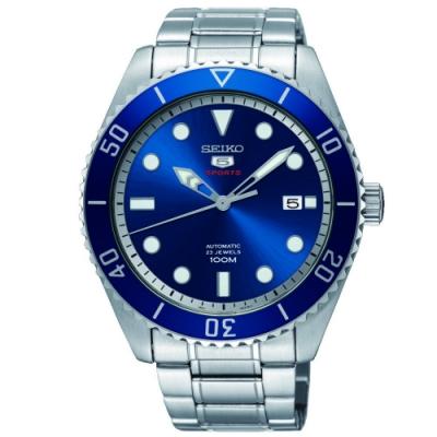 SEIKO精工 5號深藍復刻盾牌機械錶 SRPB89K1 44mm
