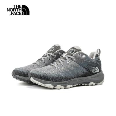 The North Face北面女款灰色防水透氣徒步鞋|4PFPMX3
