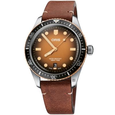 Oris豪利時 Divers Sixty-Five日期錶 0173377074356-0752045
