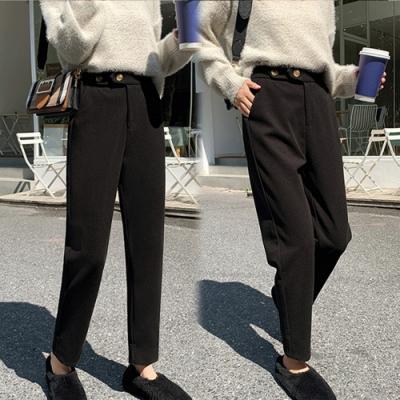 【韓國K.W.】(預購)玩美潮流完美七九褲-2色