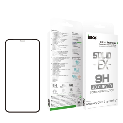 iMOS Apple iPhone 11 Pro 專用版 神極3D 玻璃螢幕保護貼
