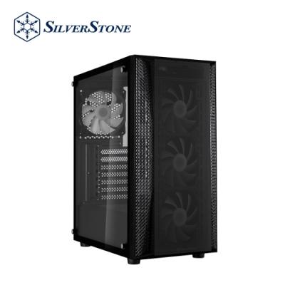 SilverStone銀欣 FARA B1 PRO FAB1B-PRO 酷炫ARGB中塔式機殼(黑/鋼化玻璃/ARGB風扇)