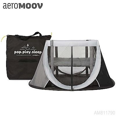 比利時《Aeromoov》秒開型便攜遊戲床-岩石灰
