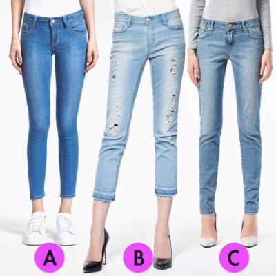 [時時樂限定]BRAPPERS 女款 黃金比例修飾褲(三款選)