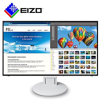 FlexScan EV2785 27吋/USB-TypeC/低藍光低閃頻4K寬螢幕-白色