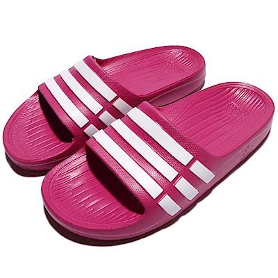 adidas 涼拖鞋 Duramo Slide 女鞋