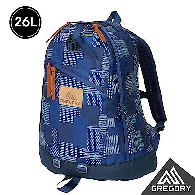 新色│Gregory 26L DAY PACK後背包 拼接藍染