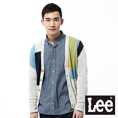 Lee 拼接設計針織外套
