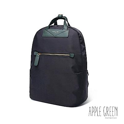 Apple Green 職潮流14 電腦後背包noblesse(藍)