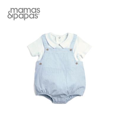 Mamas&Papas 天空傳聲筒-短袖包屁衣