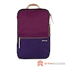 STM Grace Pack 15吋 優雅時尚筆電後背包 (深紅紫)