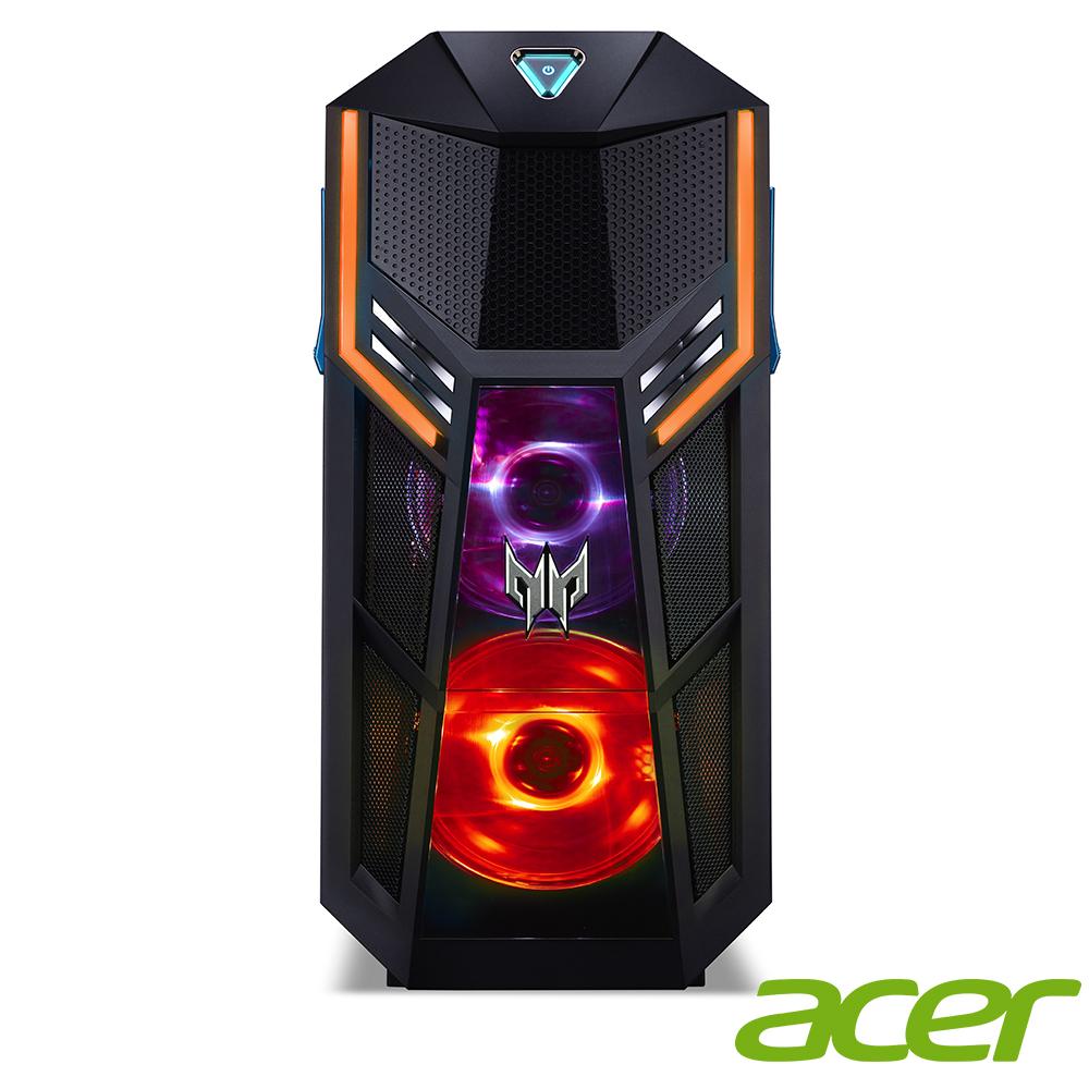 (無卡分期-12期)Acer Orion5000 i7-9700K/RTX2060電競電腦