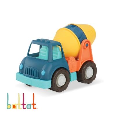 美國【B.Toys】Wonder Wheels系列-圓周綠水泥車玩具