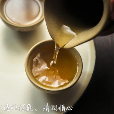 (任選)極鮮配 天然養生赤小豆薏仁除濕茶(12包/袋)
