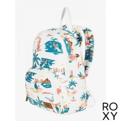 【ROXY】ALWAYS CORE CANVAS 後背包 白色