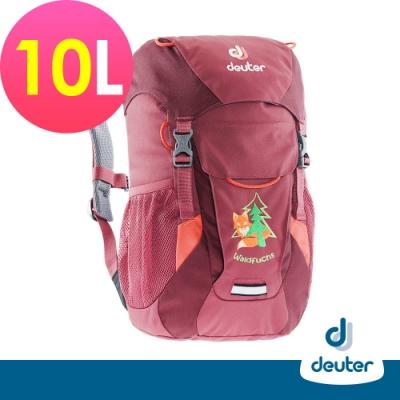 【德國DEUTER】WALDFUCHS 10L兒童背包/書包/旅遊包3610015莓紫紅