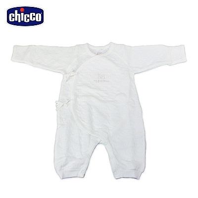 chicco-夾棉肚衣式兔裝-米(3-6個月)