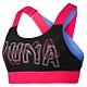 PUMA-女性訓練系列Feel It中衝擊運動內衣-黑色-歐規 product thumbnail 1