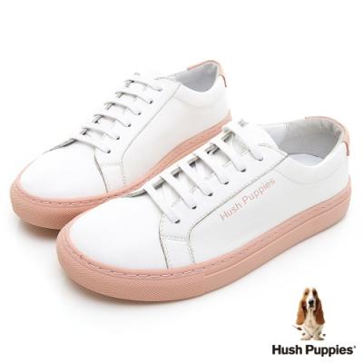 Hush Puppies Serendipity 綁帶女休閒鞋-淺杏色