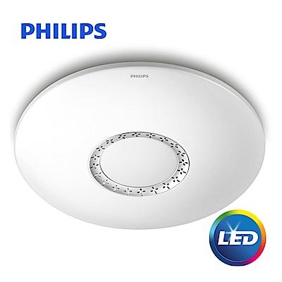飛利浦 Philips 悦雅 40瓦LED可調色溫智慧吸頂燈 61351